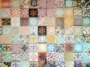 Funky kitchen tiles